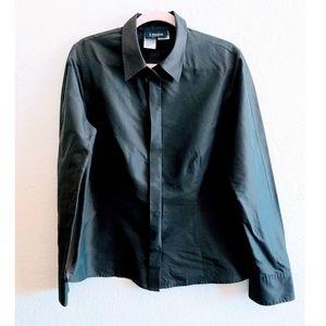 MaxMara Snap Button Down Shirt Size 14